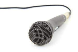 corded-mic-stock-image